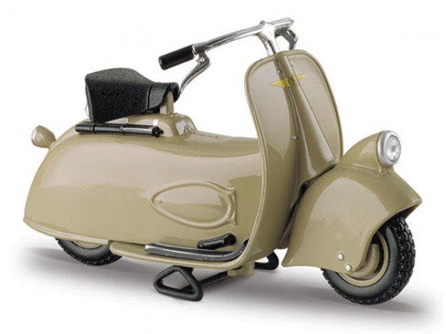 Vespa Scooter MP5 Paperino (1945) Green