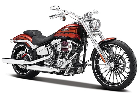 Harley Davidson CVO Breakout 2014 Red/Black - 1:12