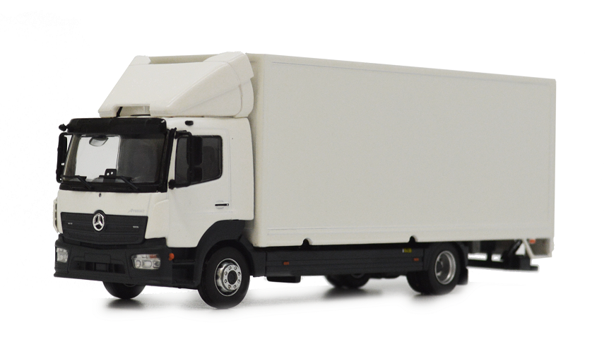 Mercedes-Benz Atego Box Truck - 1:50