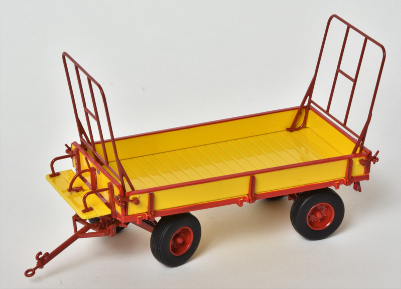 Miedema Agricultural Trailer Yellow/Red