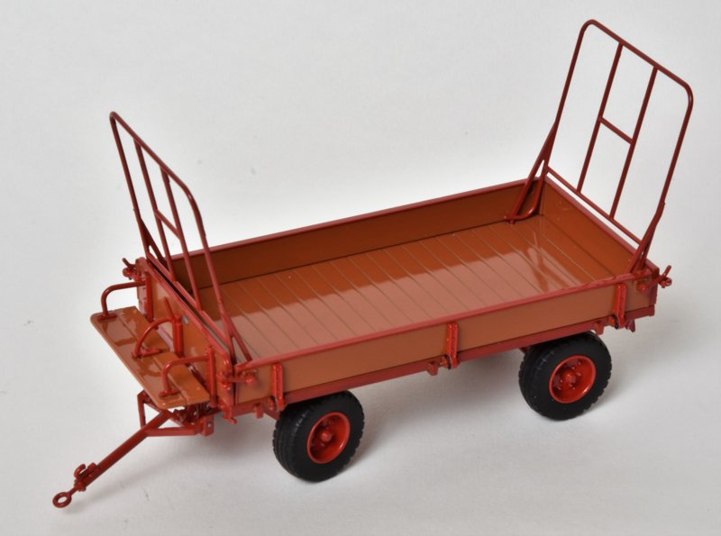 Miedema Agricultural Trailer Wood/Red