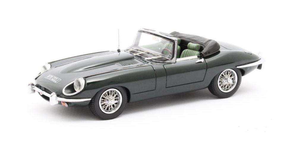 Jaguar E-Type SII Roadster 1970 Groen