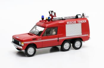 Range Rover Carmichael Commando Rescue Unit 1972 Red