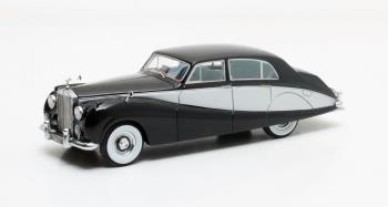 Freestone and Webb Design 4-door Saloon 1957 Zwart/Zilver
