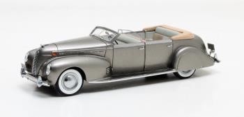 Lincoln Model K LeBaron Convertible 1938 Grijs Metallic