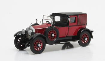 Rolls Royce 20HP Open Drive Brougham Brewster 1927 Red