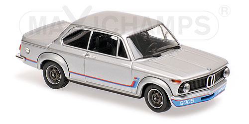 BMW 2002 Turbo 1973 Zilver