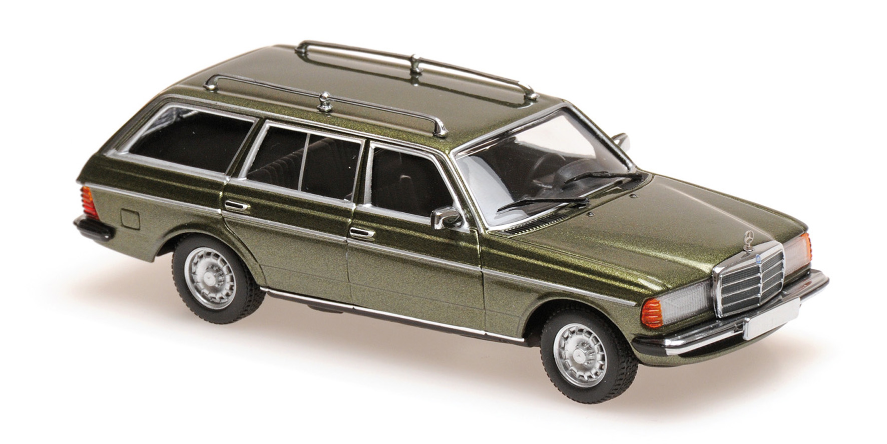 Mercedes-Benz 230TE (W123) 1982 Green Metallic