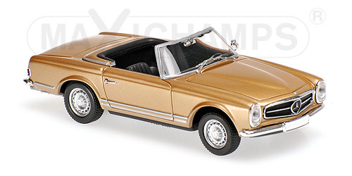 Mercedes-Benz 230 SL 1965 Goud Metallic