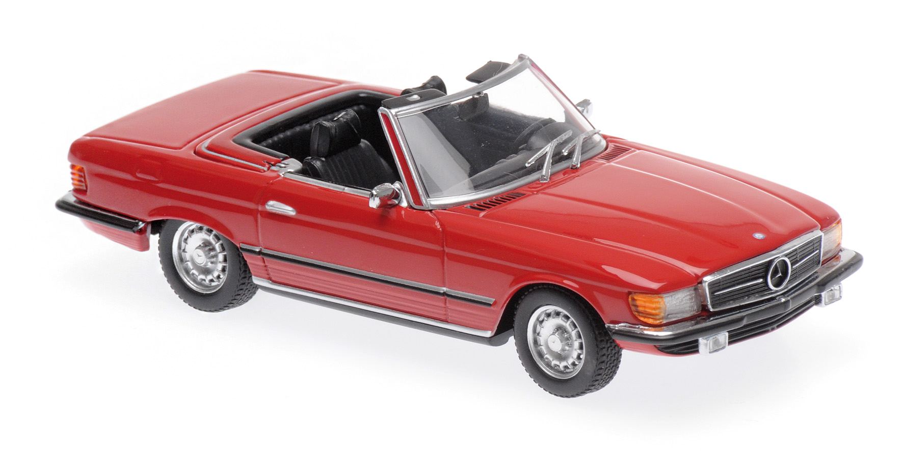 Mercedes-Benz 350 SL 1974 Red