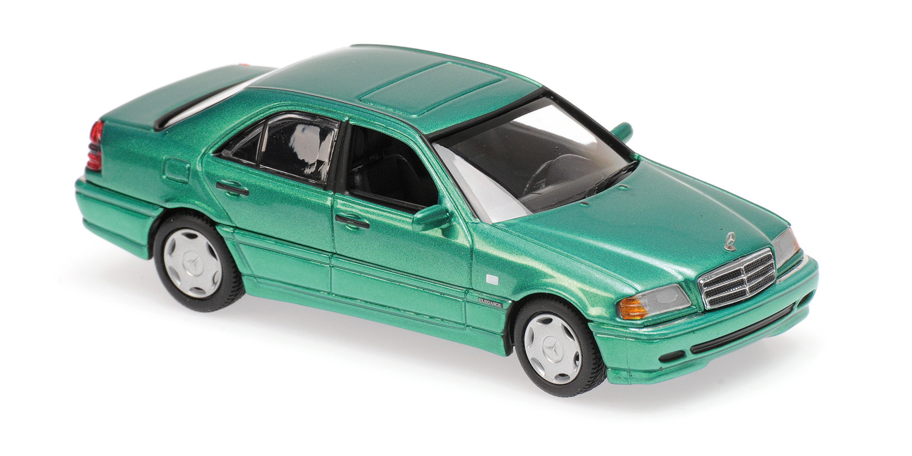 Mercedes-Benz C-Class 1997 Green Metallic