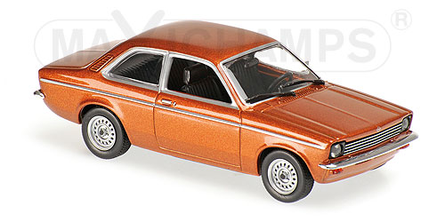 Opel Kadett C 1974 Brown Metallic