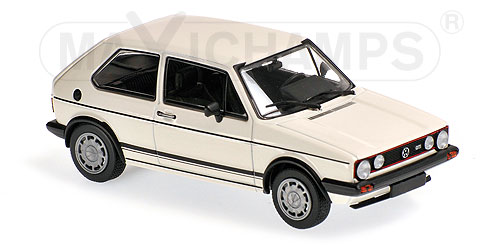 Volkswagen Golf 1 GTi 1980 Wit