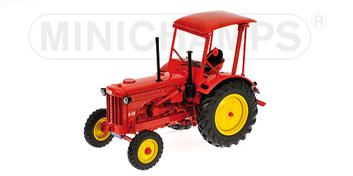 Hanomag R35 Tractor 1955 Red 1:18