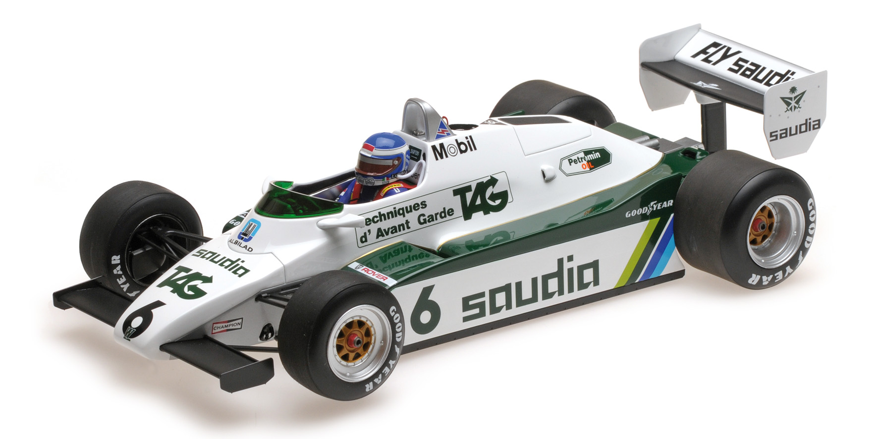 Williams Ford FW08 Worldchampion 1982 K. Rosberg