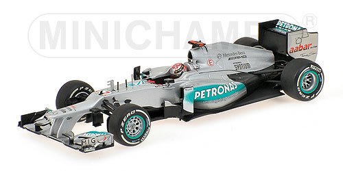 Mercedes AMG Petronas  F1 Team W03 300th GP Belgian GP 2012 M.Schumacher