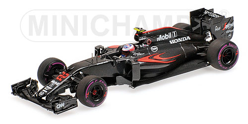 McLaren Honda MP4-31 GP Monaco 2016 J. Button