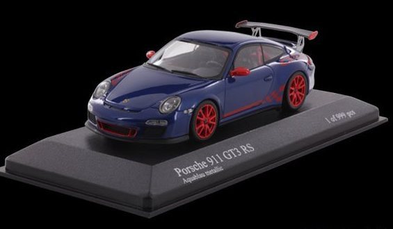 Porsche 911 (997) GT3 RS 2010 Blue Metallic