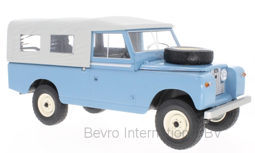 Land Rover 109 Pick-Up Series II 1959 Blauw/Grijs