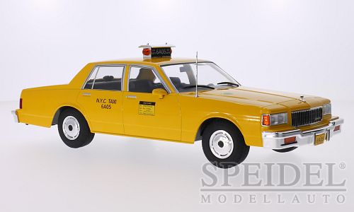 Chevrolet Caprice Classic Sedan 1985 New York City Taxi