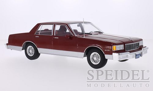 Chevrolet Caprice Classic Sedan 1985 Donkerrood Metallic