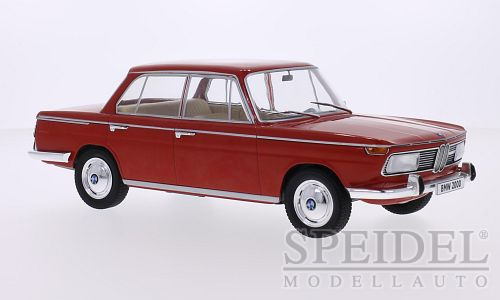 BMW 2000 (Typ 120) 1966 Rood