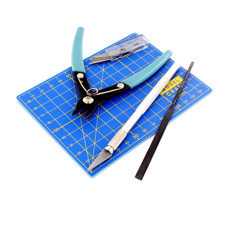 Plastic Model Tool Set 9-pieces