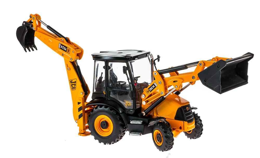 JCB 3CX Backhoe Loader (Contractor) 1:50