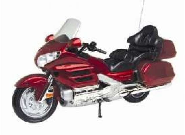 Honda Goldwing Rood - 1:6