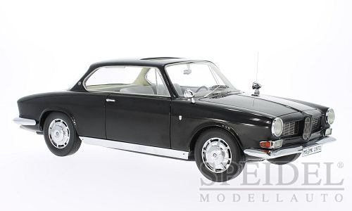 BMW 3200 CS Bertone 1961 Black - 1:18