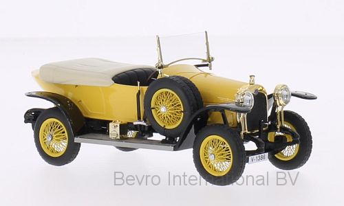 Audi 14/35 PS Typ C Alpensieger RHD 1914 Yellow/Black