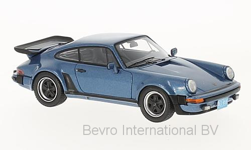 Porsche 911 (930) Turbo USA 1979 Blauw Metallic