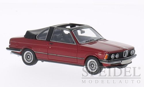 BMW 320 (E21) Baur Cabriolet Dark Red Metallic