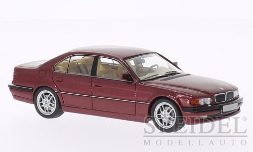 BMW 740i (E38) 2000 Dark Red Metallic