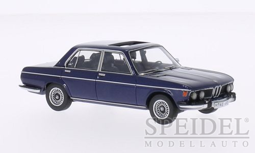 BMW 3.0 S (E3) 1969 Dark Blue Metallic