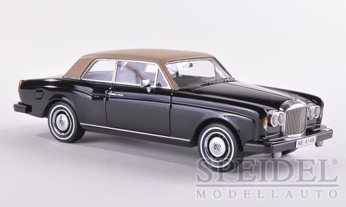 Bentley Corniche FHC RHD 1977 Black/Beige
