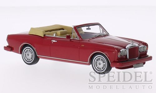 Bentley Continental DHC RHD 1985 Rood