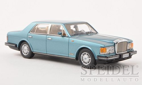 Bentley Mulsanne 1980 Lichtblauw Metallic