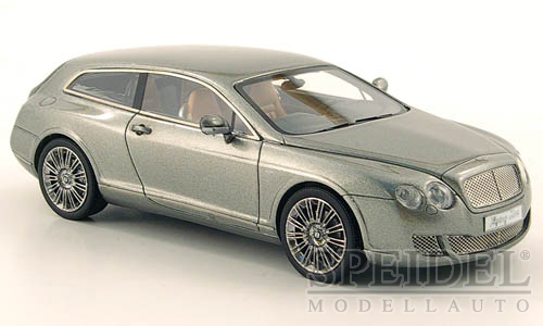 Bentley Continental Flying Star by Touring 2010 Grijs Metallic
