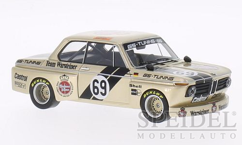 BMW 2002 GS Tuning Warsteiner No.69 DRM 1975 J.Obermoser