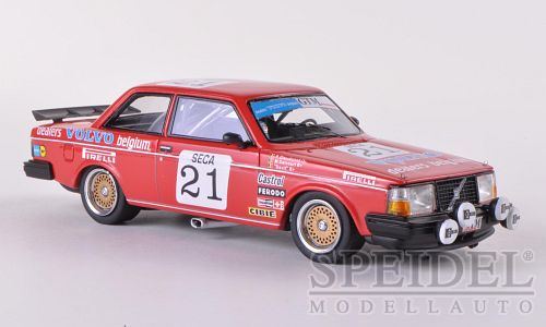 Volvo 240 Turbo Gr.A Team Delcourt No.21 ETCC 1984