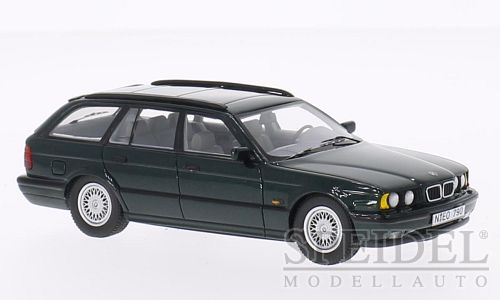 BMW 530i (E34) Touring Dark Green Metallic