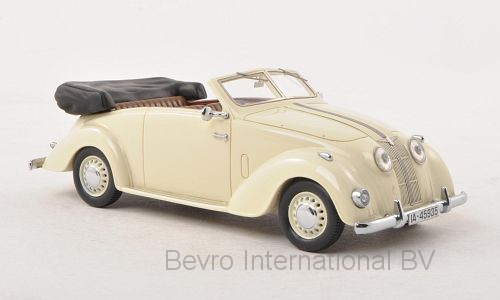 Adler 2.5L Convertible 1937 Light Beige