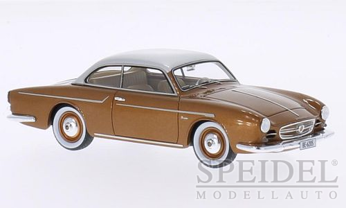 Beutler Porsche 1600 Coupe 1957 Brown/Silver Metallic