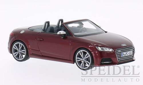 Audi TTS Roadster 2014 Donkerrood Metallic