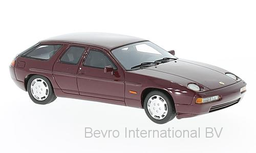 Porsche 928 H50 Concept 1987 Dark Red Metallic