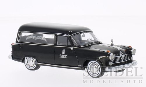 Borgward Hansa 2400 Rappold Hearse 1957 Black