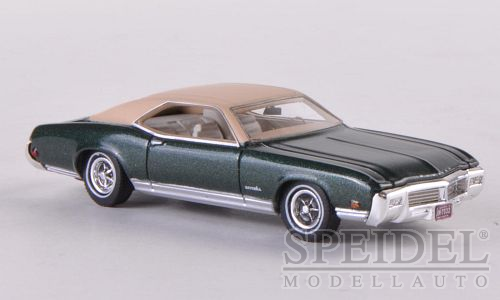 Buick Riviera GS 1969 Dark Green/Beige Metallic - 1:87
