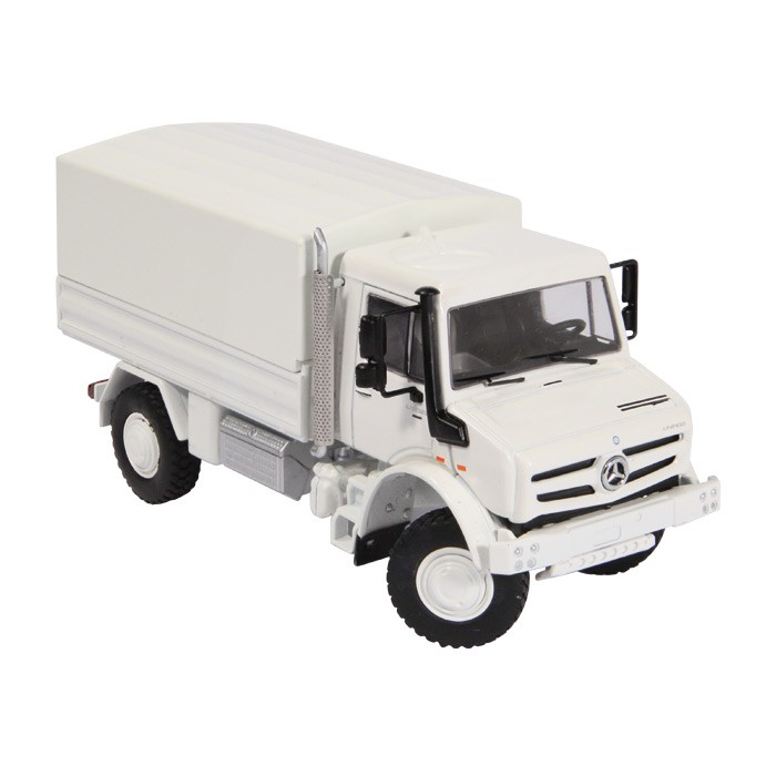 Mercedes-Benz Unimog U5000 White