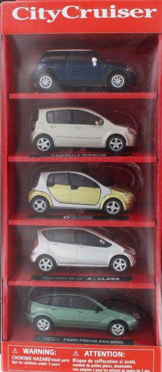City Cruiser Set 1 (5 Assorti)